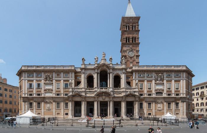 Santa Maria Maggiore, in Roma, custodisce la culla di Gesù. (foto Pierre-Selim Huard/Wikipedia)