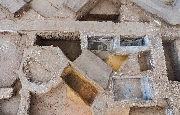 Antico impianto per la produzione del garum nei pressi della città di Ashkelon. (foto Asaf Peretz / Autorità israeliana per le antichità)