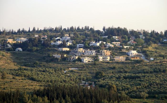 Una veduta panoramica dell'Oasi di pace.