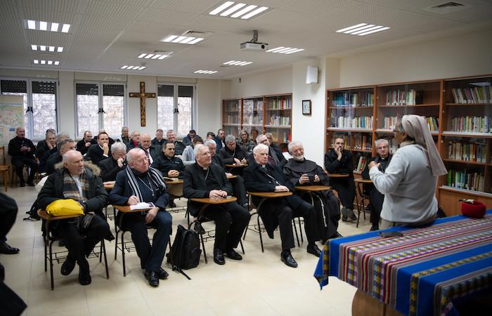 La testimonianza di suor Azezet. (foto N. Asfour)