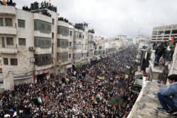 A Ramallah tutti uniti nel No