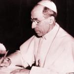 Pio XII, papa tra il 1939 e il 1958, in Vaticano