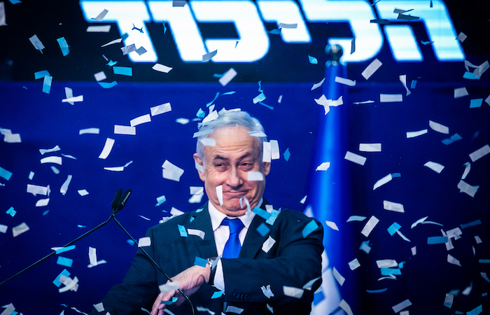Dalle urne israeliane un premio a Netanyahu