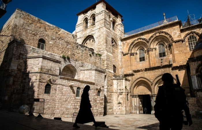 A Gerusalemme il coronavirus azzera i pellegrinaggi