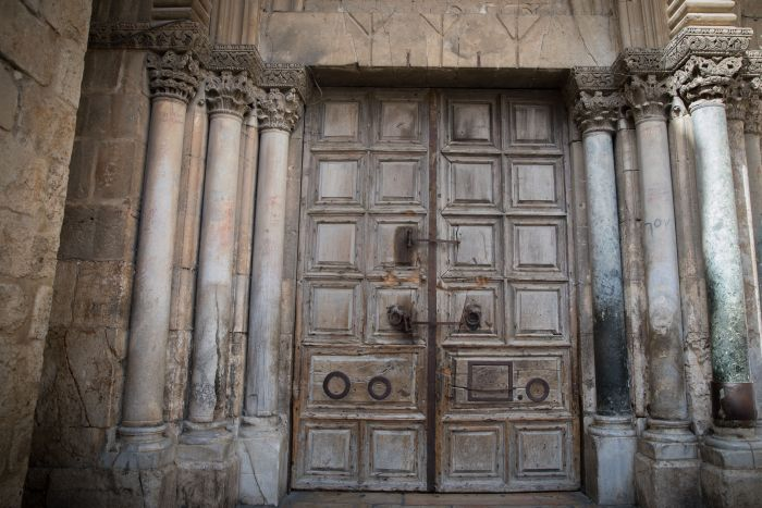 porte sprangate santo sepolcro gerusalemme