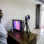 Rafah Gaza Covid19 controlli infrarossi febbraio 2020