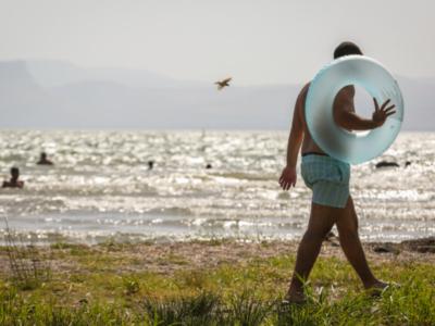 Le acque del lago di Tiberiade ai livelli più alti degli ultimi anni