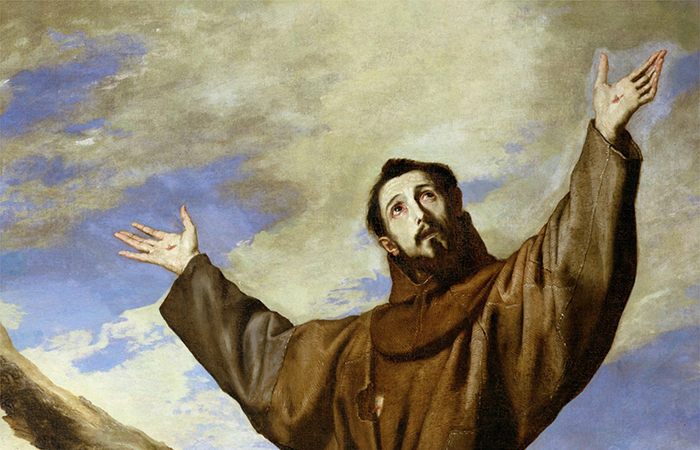 Francesco e i Protomartiri francescani davanti alla malattia