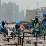 lavoratori migranti golfo persico