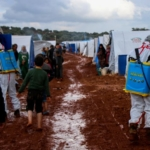 sanificazione campi idlib siria