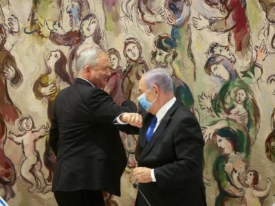 Israele, al via il governo Netanyahu-Gantz