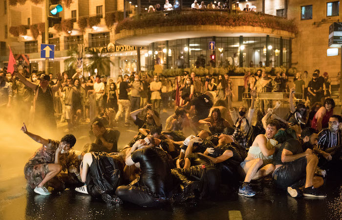 In Israele vivaci proteste contro il premier Netanyahu