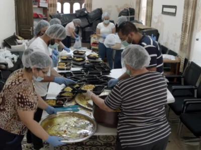 Caritas Jerusalem per gli anziani nella pandemia
