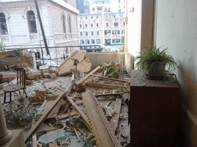 Beirut in ginocchio, la testimonianza di un frate