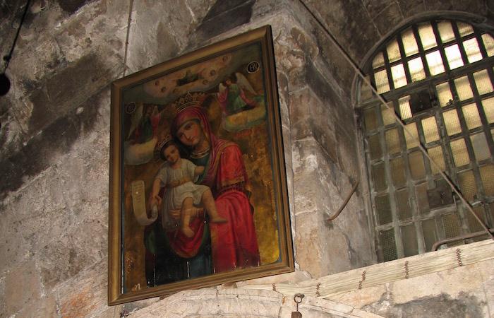 La presenza di una chiesa mariana presso il monte degli Ulivi è documentata dalla metà del V secolo. (foto Jerzy Kraj)