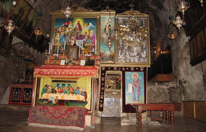 Secondo lo status quo, la chiesa appartiene alla comunità greco-ortodossa e armena. (foto Jerzy Kraj)