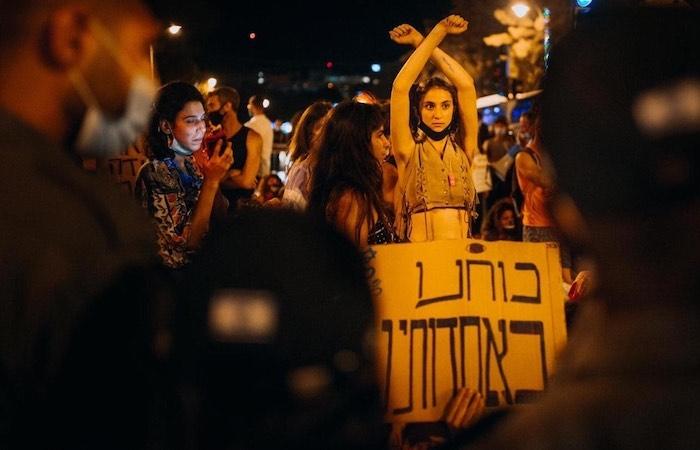 Avigayil, il volto degli israeliani in rivolta