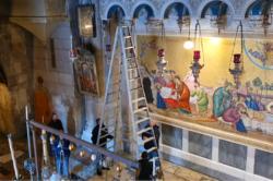 Le logiche inconsuete del Santo Sepolcro