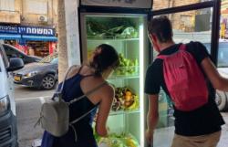Un frigo condiviso per combattere gli sprechi