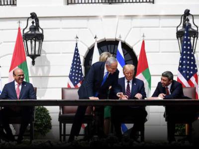 Firmati a Washington gli Accordi di Abramo