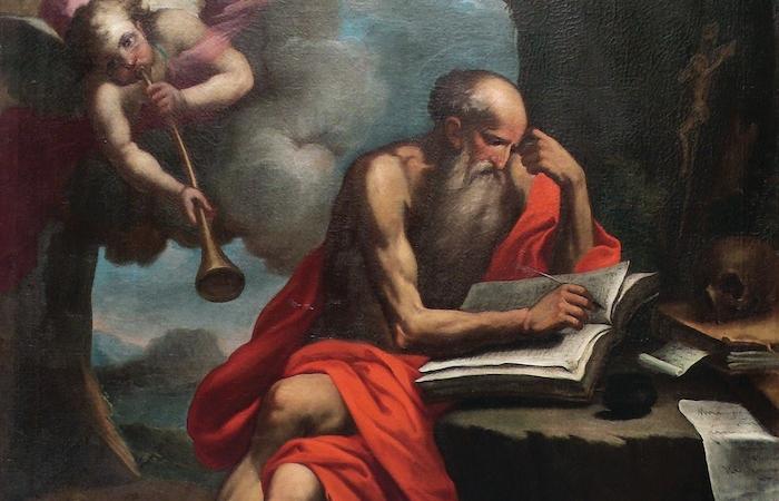 Un omaggio a san Girolamo, biblista e asceta