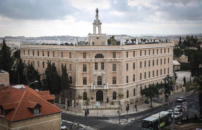 Il Terra Sancta College, situato in piazza Parigi, nel quartiere di Rehavia, a Gerusalemme. Sorge a ridosso di via Balfour, sulla quale si affaccia la residenza del premier israeliano. (foto Hadas Parush/Flash90)