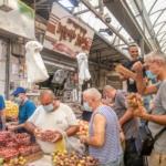 Covid19 israele ramleh mercato