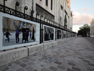 I frati di Terra Santa in una mostra all'aperto a Parigi