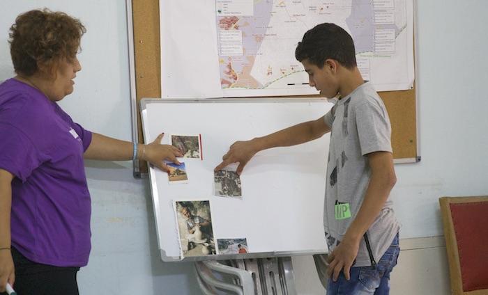 Giovani occhi su Hebron