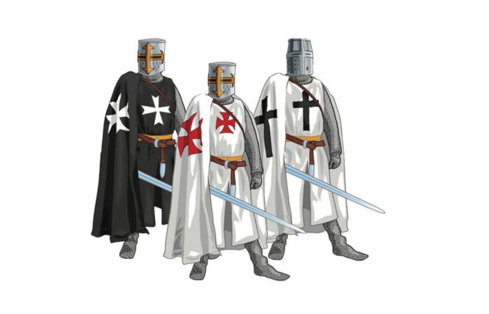 Monaci in armi, i cavalieri di Terra Santa