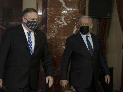 Pompeo in Israele definisce «antisemita» il movimento di boicottaggio