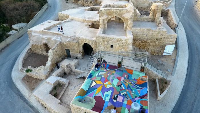 Kafr 'Aqab. Un edificio storico restaurato alle porte di Gerusalemme.