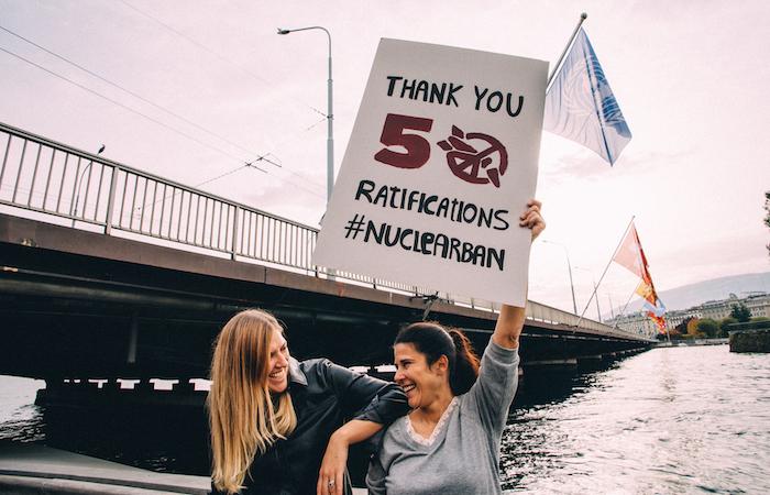 In vigore il Trattato contro le armi nucleari