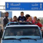 Furgone con minori e sfollati siriani a bordo ottobre 2019.
