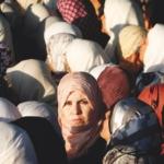 Donne al checkpoint israeliano di Qalandia - Cisgiordania