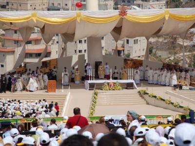 Benedetto XVI in Terra Santa