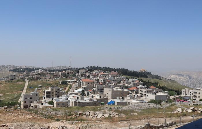 Panoramica di Kiryat Luza, uno dei due villaggi samaritani giunti ai giorni nostri.