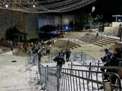 Notti d'aprile turbolente a Gerusalemme