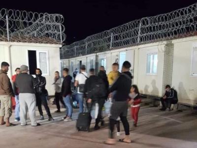 Sgomberato il campo profughi informale di Rodi