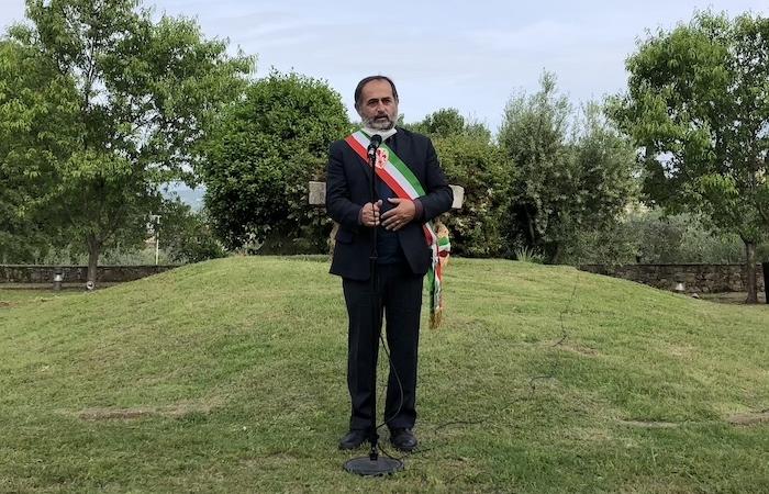 L'assessore Alessandro Martini porta il saluto del sindaco di Firenze.
