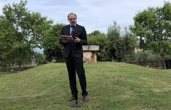 Prende la parola il rabbino Gad Fernando Piperno.