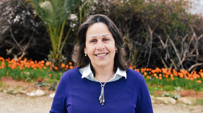Rita Boulos vive a Neve Shalom Wahat al Salam dal 1989.
