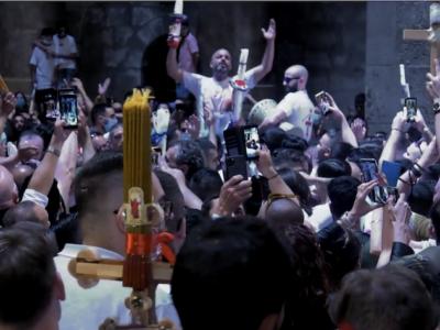 Il Fuoco santo della Pasqua ortodossa