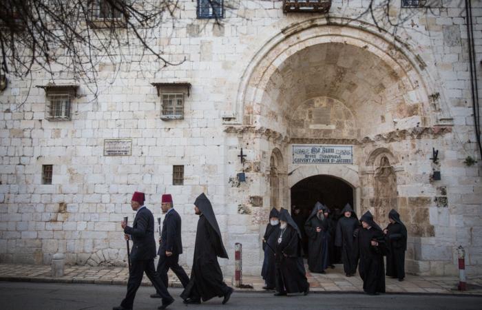A Gerusalemme aggredito un prete armeno
