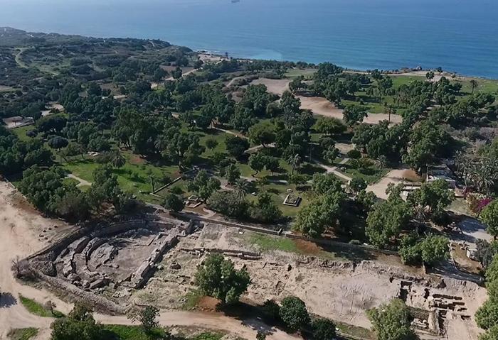 La basílica romana más grande de Israel descubierta en Ashkelon 1