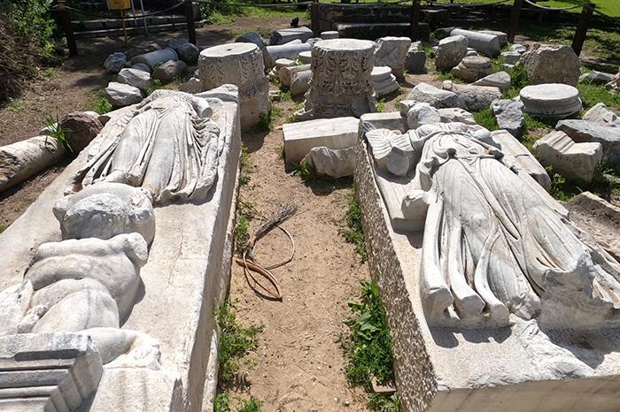 La basílica romana más grande de Israel descubierta en Ashkelon 2