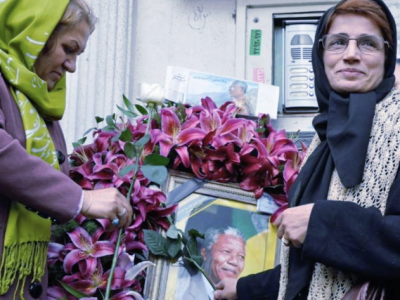 Un tributo, quasi clandestino, a Nasrin Sotoudeh