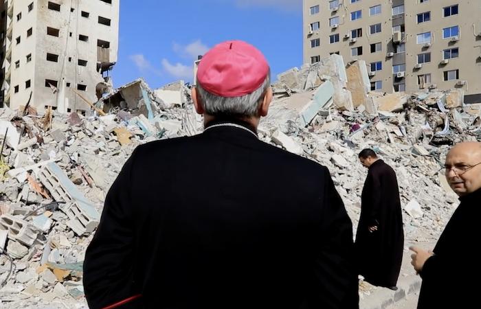 Il patriarca Pizzaballa a Gaza: Coraggio e speranza!