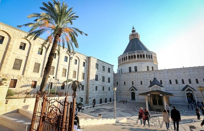 A Nazaret l'Oriente consacrato alla Sacra Famiglia
