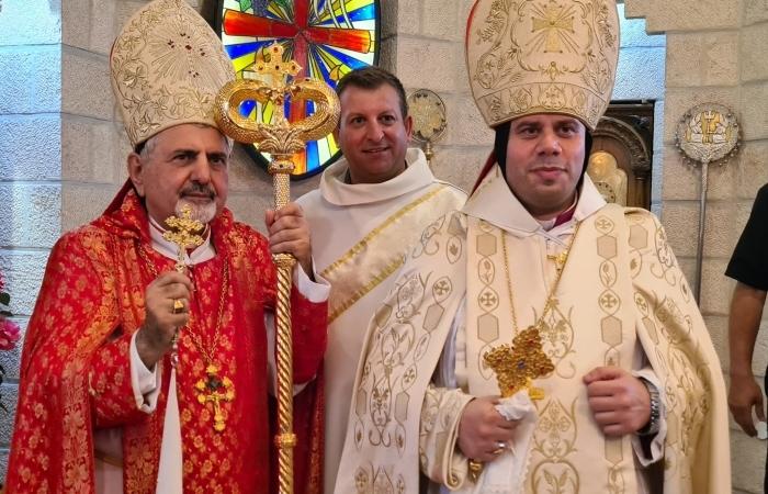 Insediato il nuovo vescovo siro-cattolico di Gerusalemme